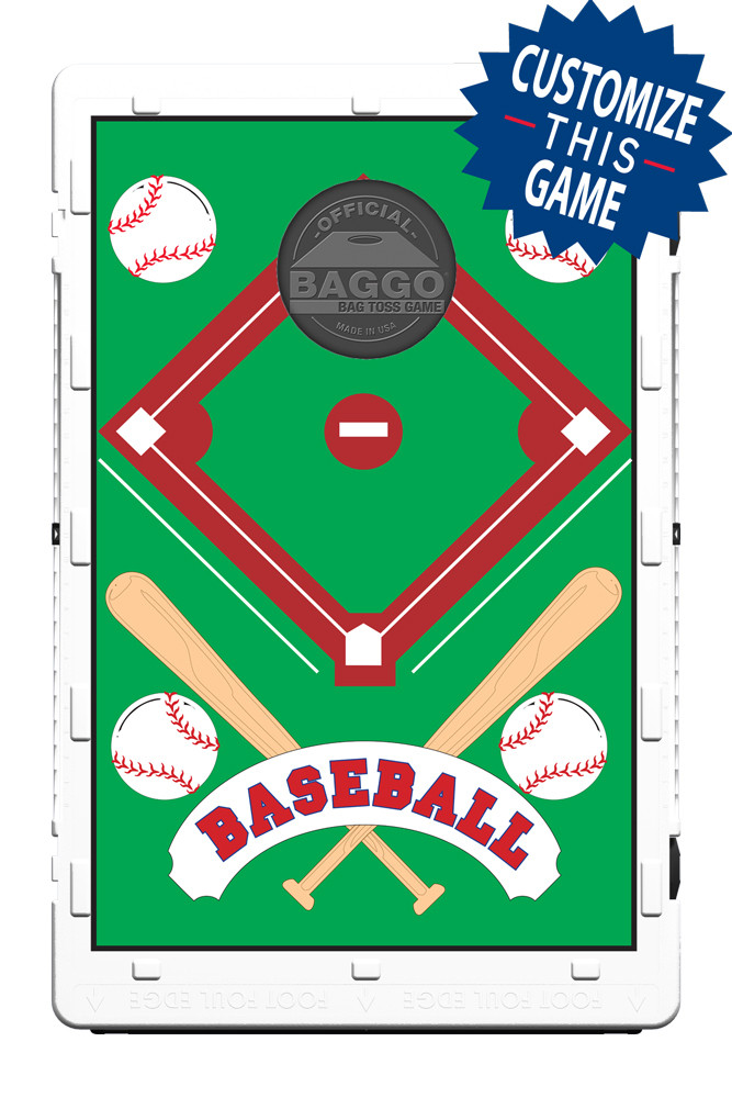 Baseball All Star Card Bean Bag Toss Game By Baggo