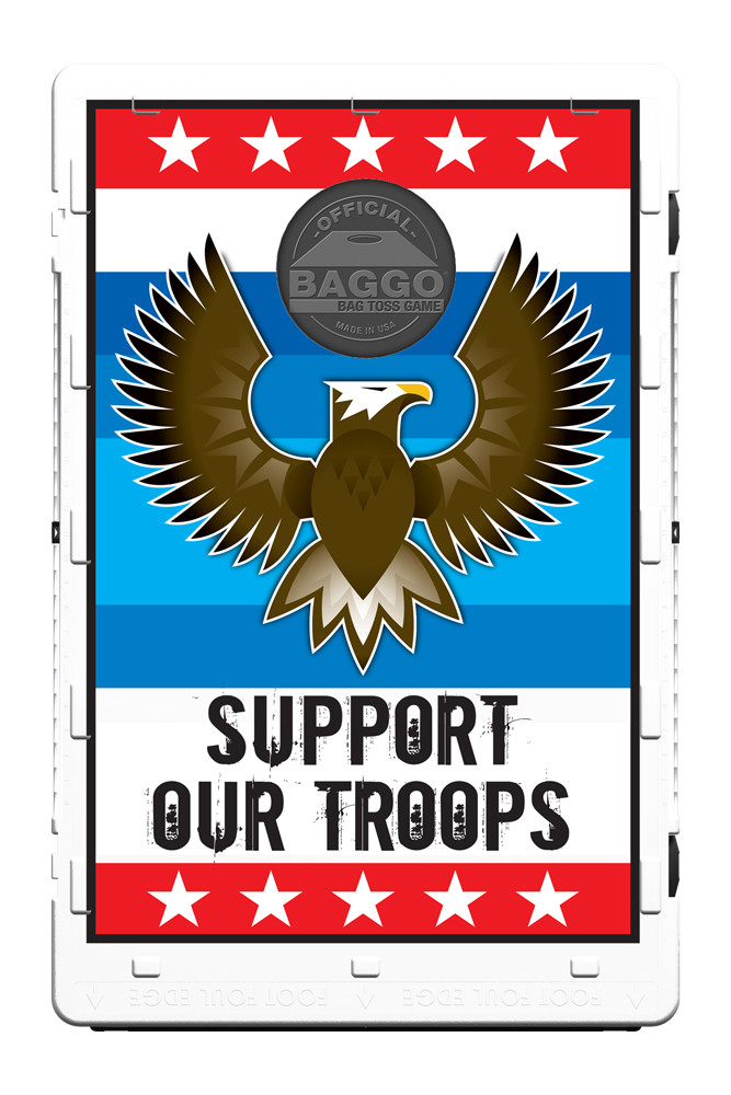 Support Our Troops Bean Bag Toss Game By Baggo