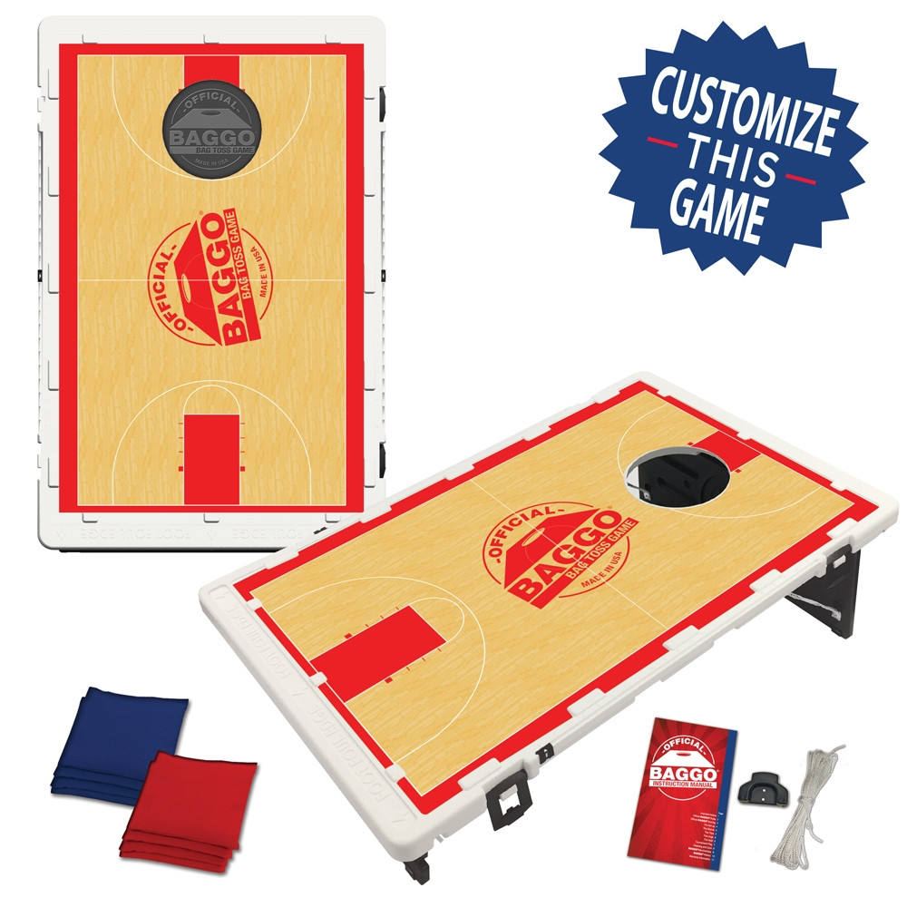 BAGGO Basketball Court setup