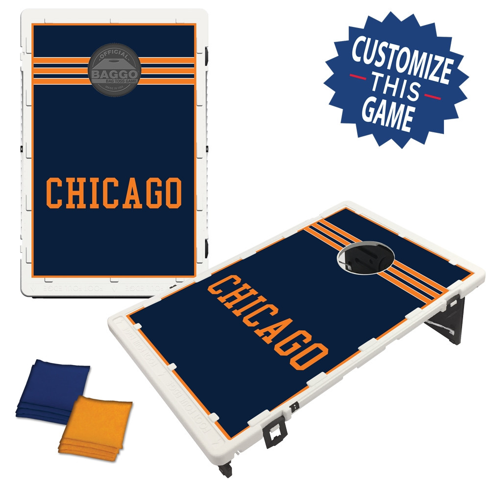 Chicago Block Bag Toss Game by BAGGO