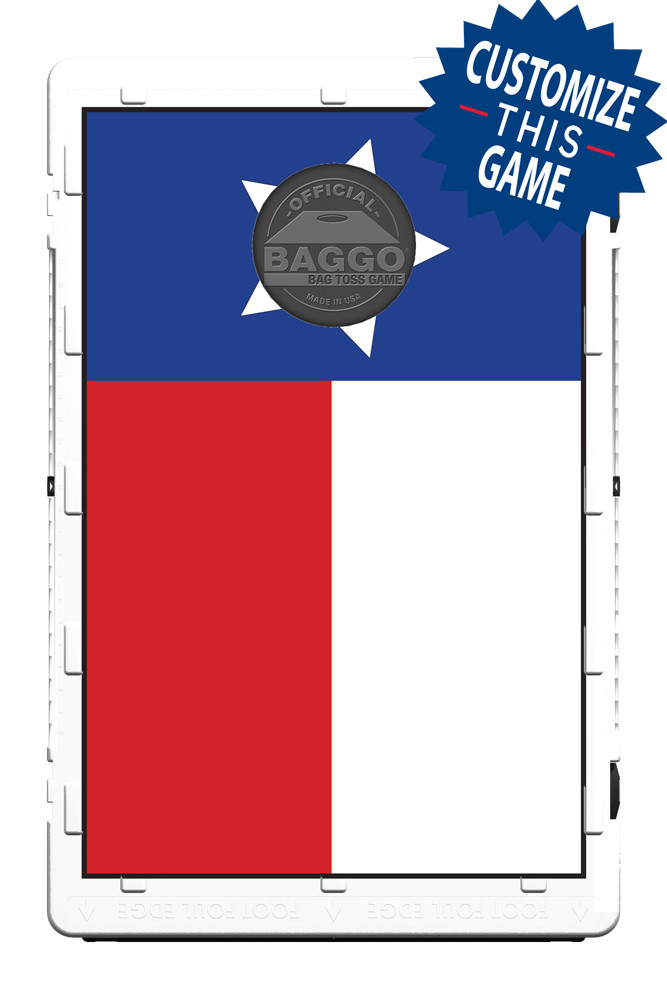 Texas Flag Baggo Screens