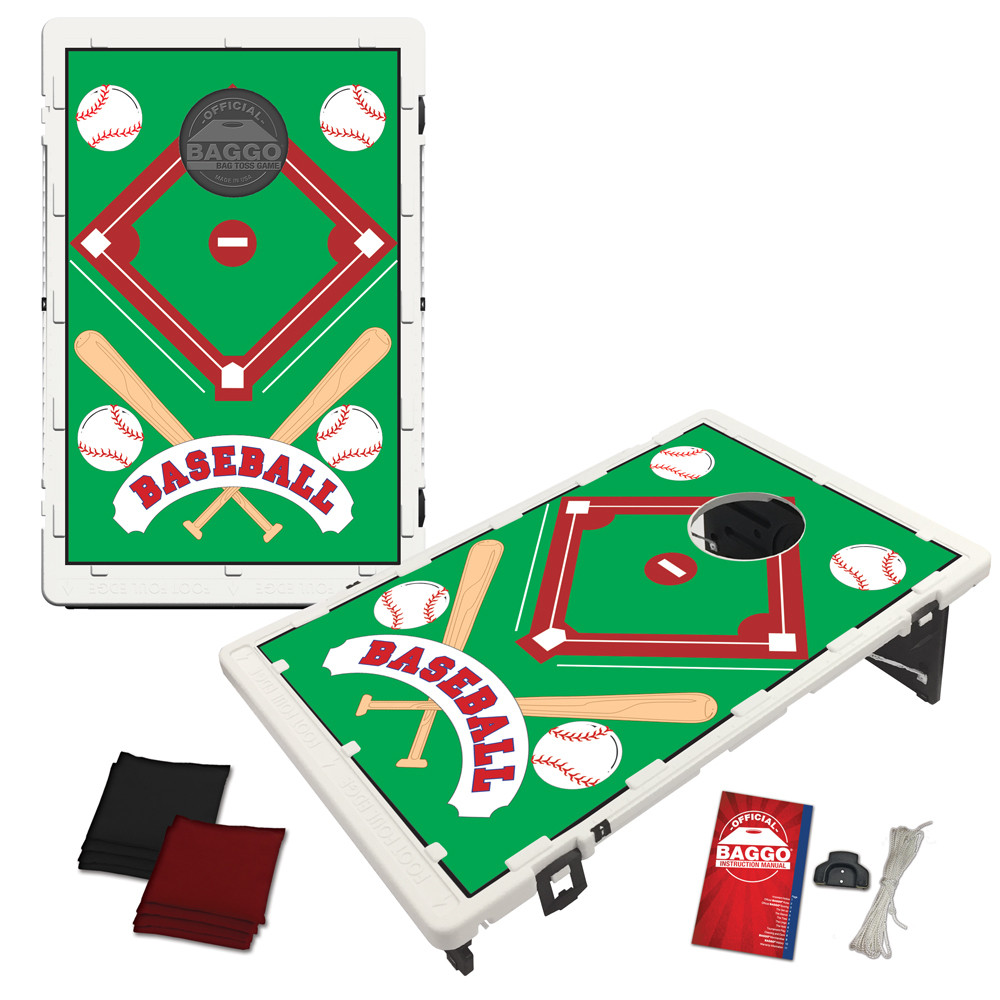 Baseball All-Star Card Bean Bag Toss Game by BAGGO