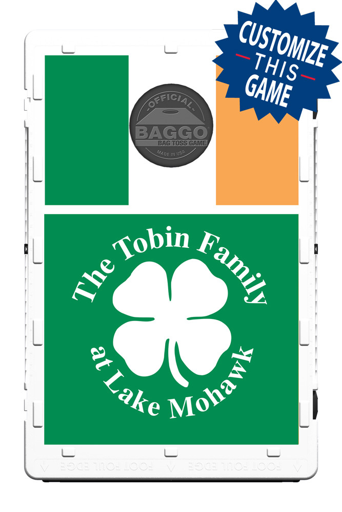 Irish & Shamrock Flag Screens (only) by Baggo