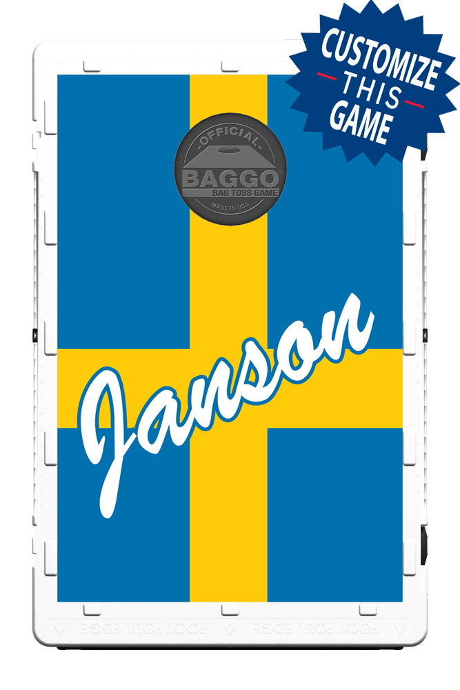 Sweden Flag Screens (only) by Baggo