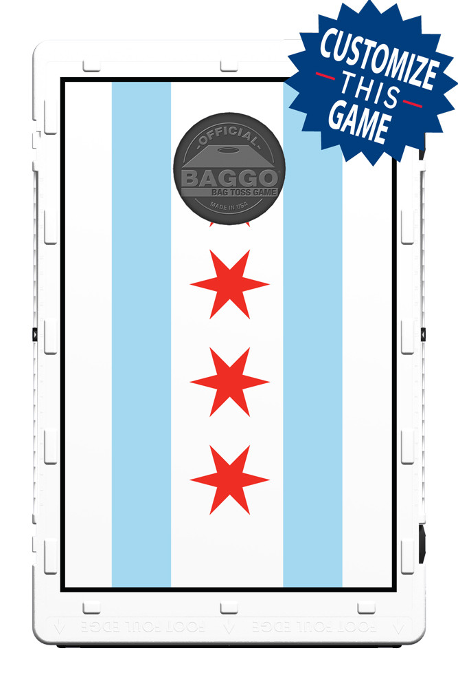 Chicago Flag Screens (only) by Baggo