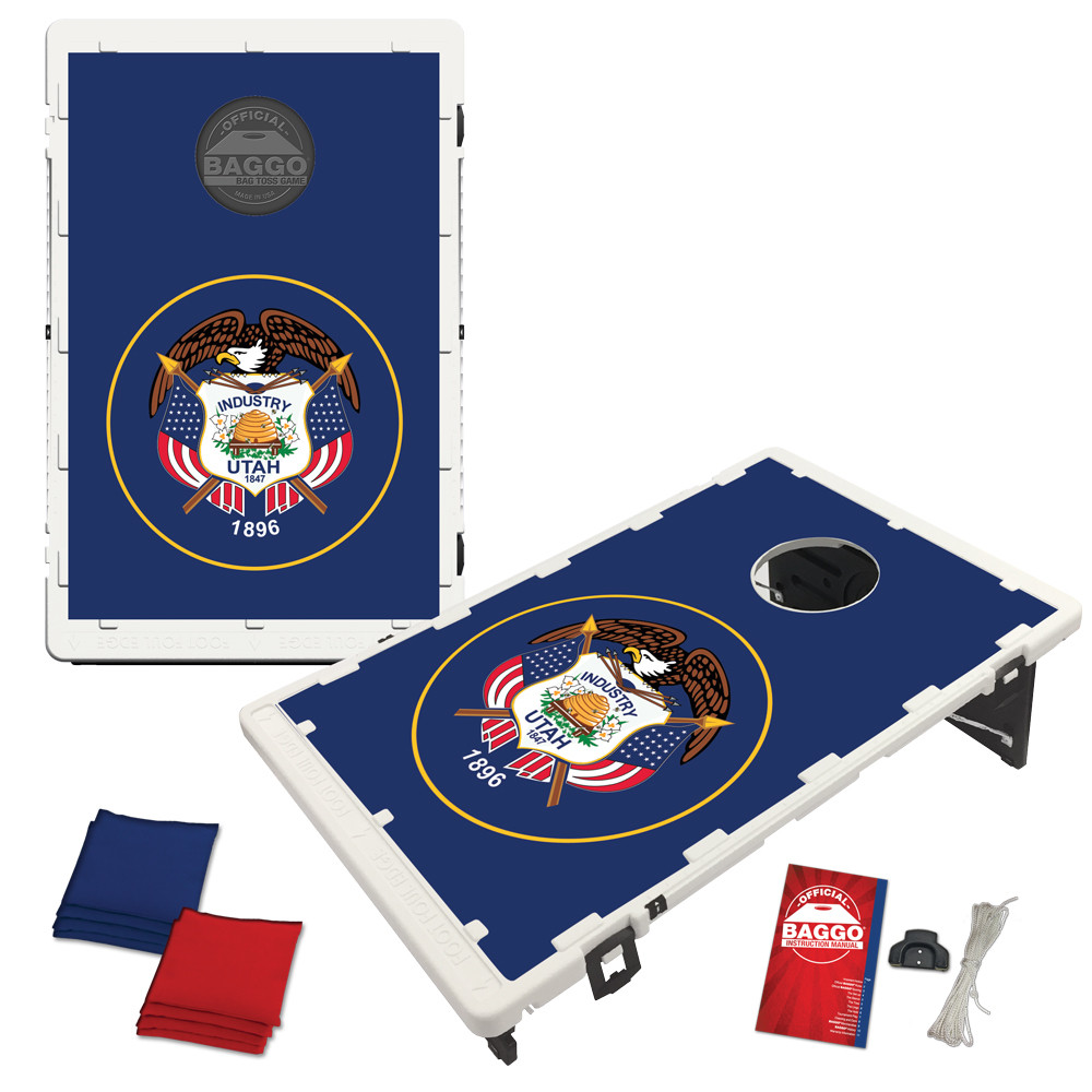Utah State Flag Bean Bag Toss Game by BAGGO