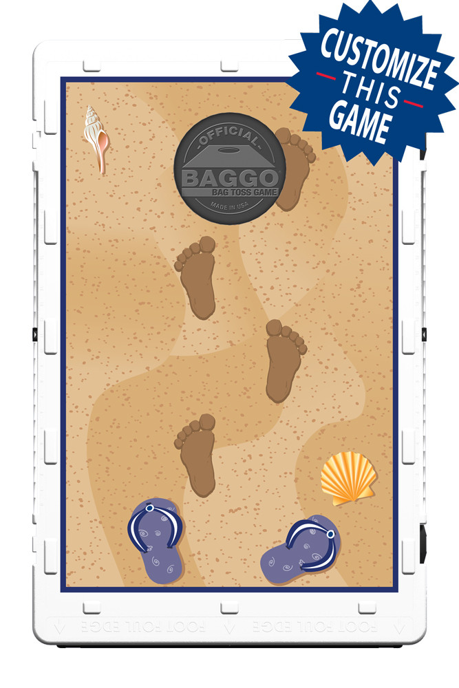 Life's A Beach-Navy/Khaki Screens (only) by Baggo