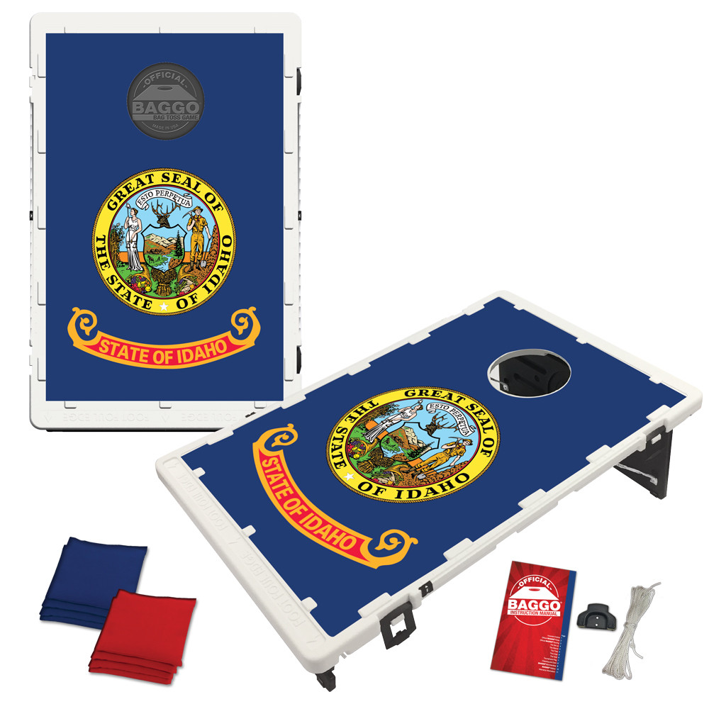 Idaho State Flag Bean Bag Toss Game by BAGGO
