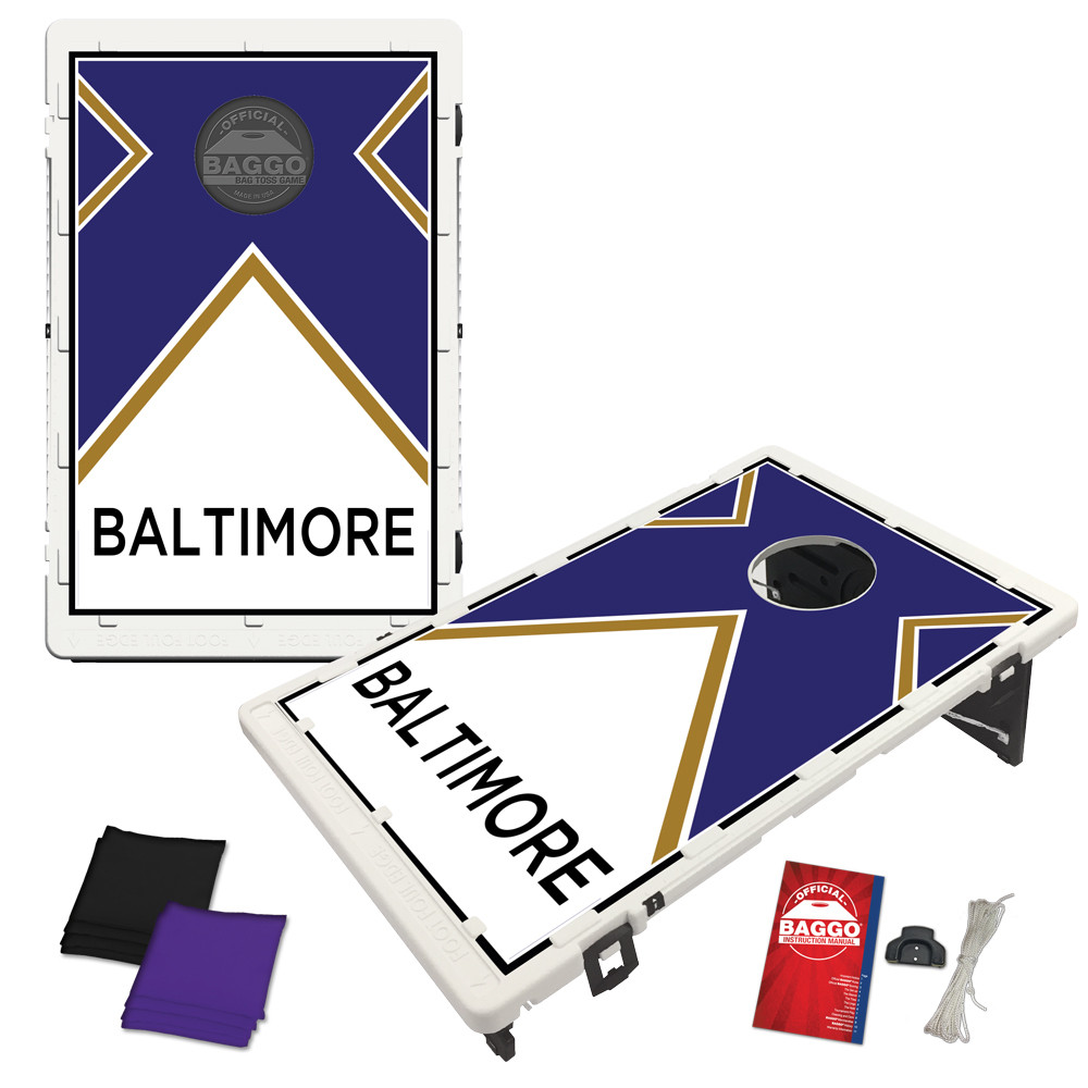 Baltimore Vintage Bag Toss Game by BAGGO