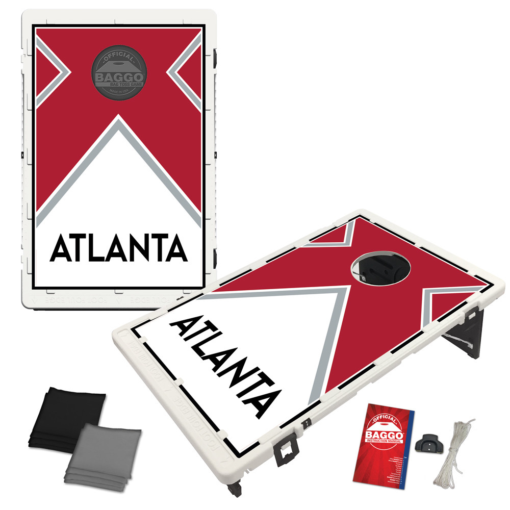Atlanta Vintage Bag Toss Game by BAGGO
