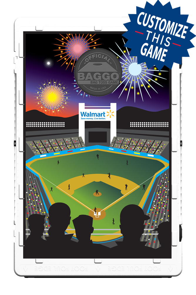 Ball Park at Night Screens (only) by Baggo