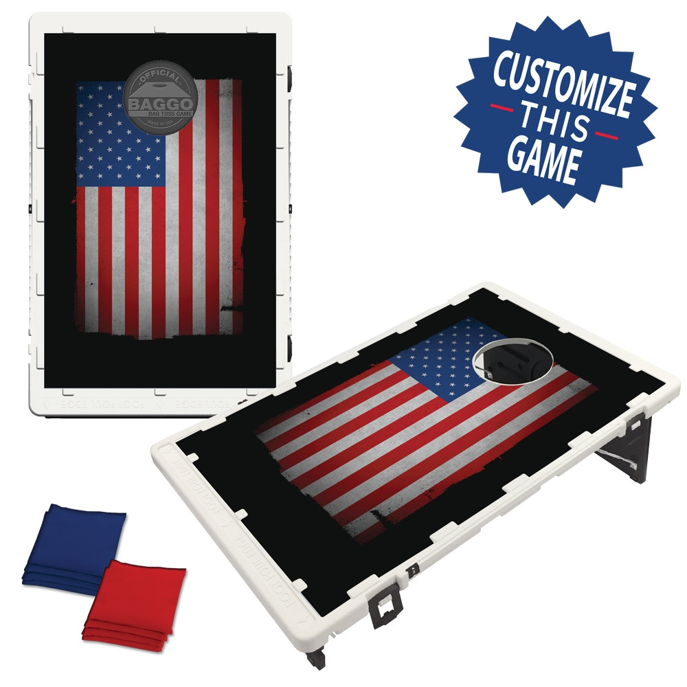 Rugged American USA Flag (setup)