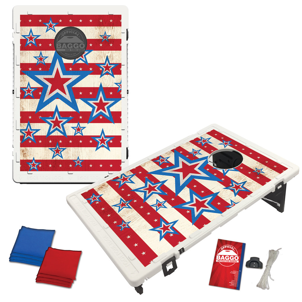 Stars and Stripes Bean Bag Toss Game by BAGGO