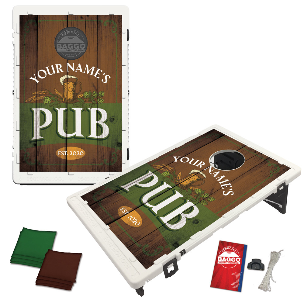 Pub Design Bean Bag Toss Game by BAGGO