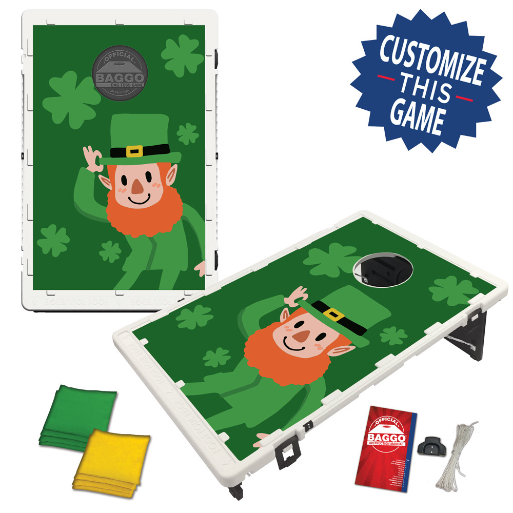 Cartoon Leprechaun BAGGO game