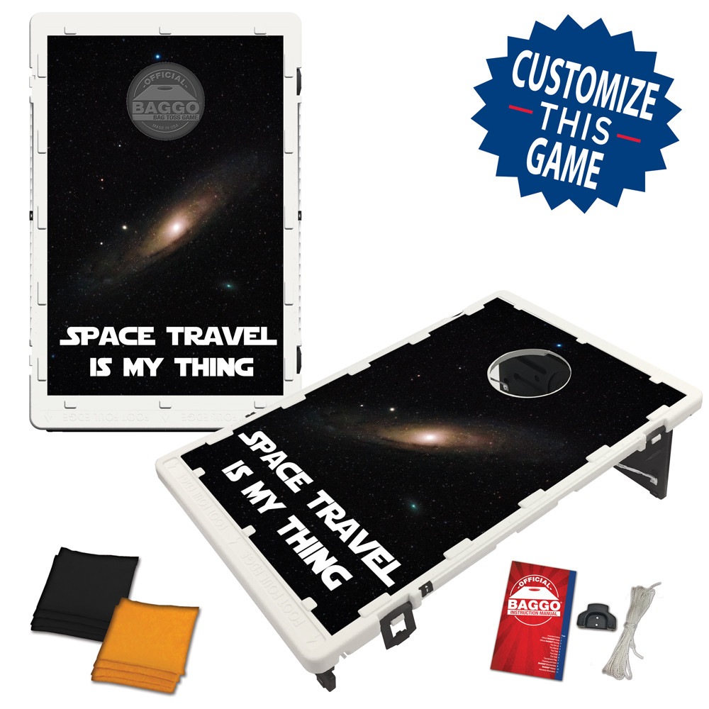 Space Travel Bean Bag Toss Game by BAGGO