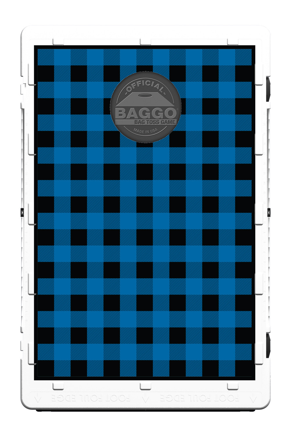 Blue Plaid Flannel Screens (only) by Baggo