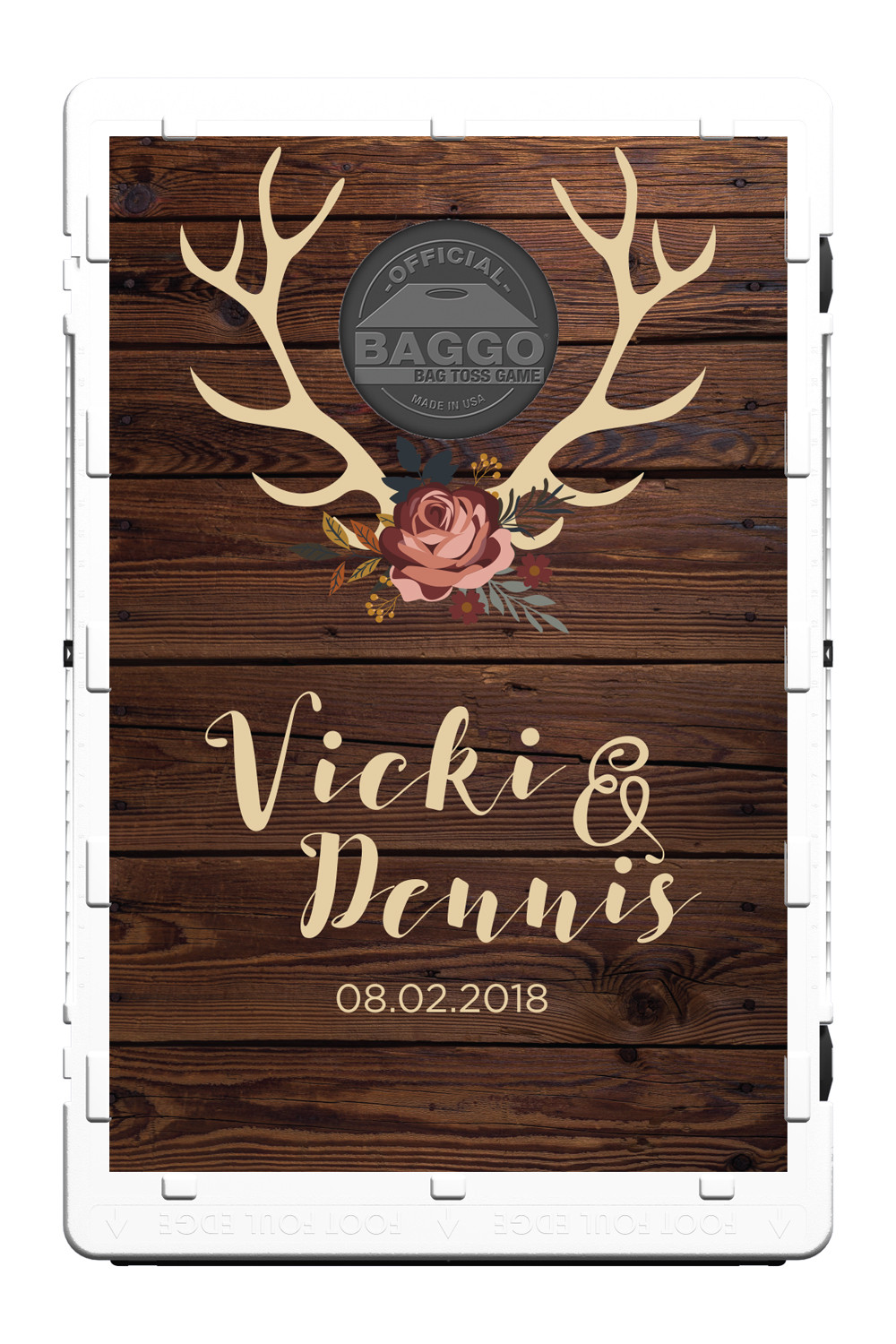 Floral Antlers Wedding Screens (only) by Baggo