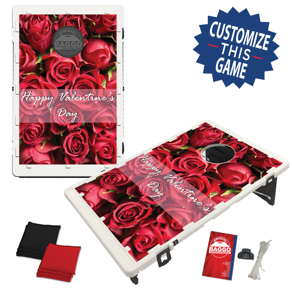 Valentine's Day Bean Bag Toss Game by BAGGO