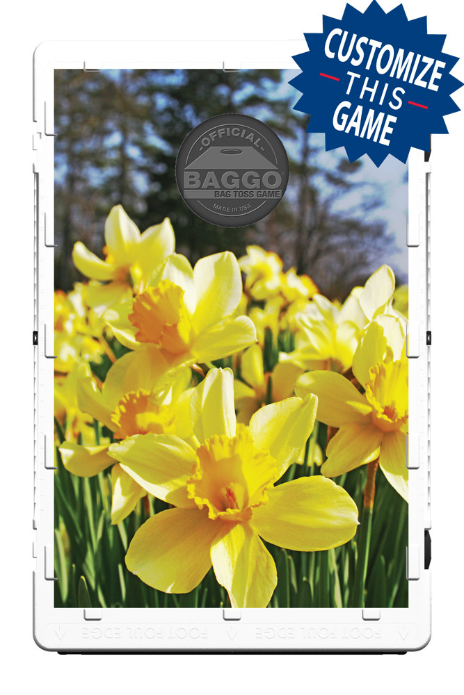 Daffodil Flowers in the Forrest Screens (only) by Baggo