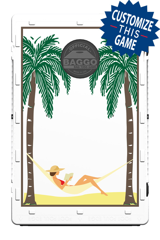 Hammock in Palm Trees Screens (only) by Baggo