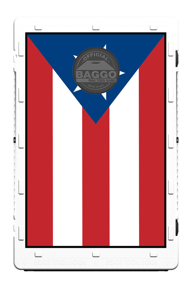 Puerto Rico Flag Screens (only) by Baggo