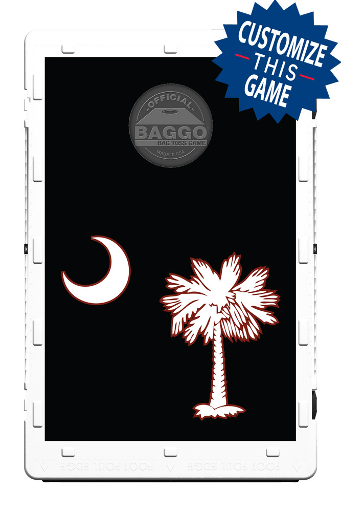 South Carolina Palmetto Black Flag Screens (only) by Baggo