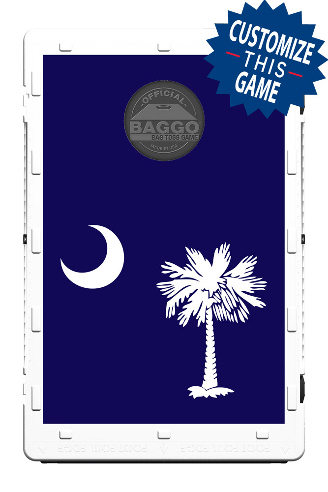 South Carolina Palmetto Blue Flag Screens (only) by Baggo