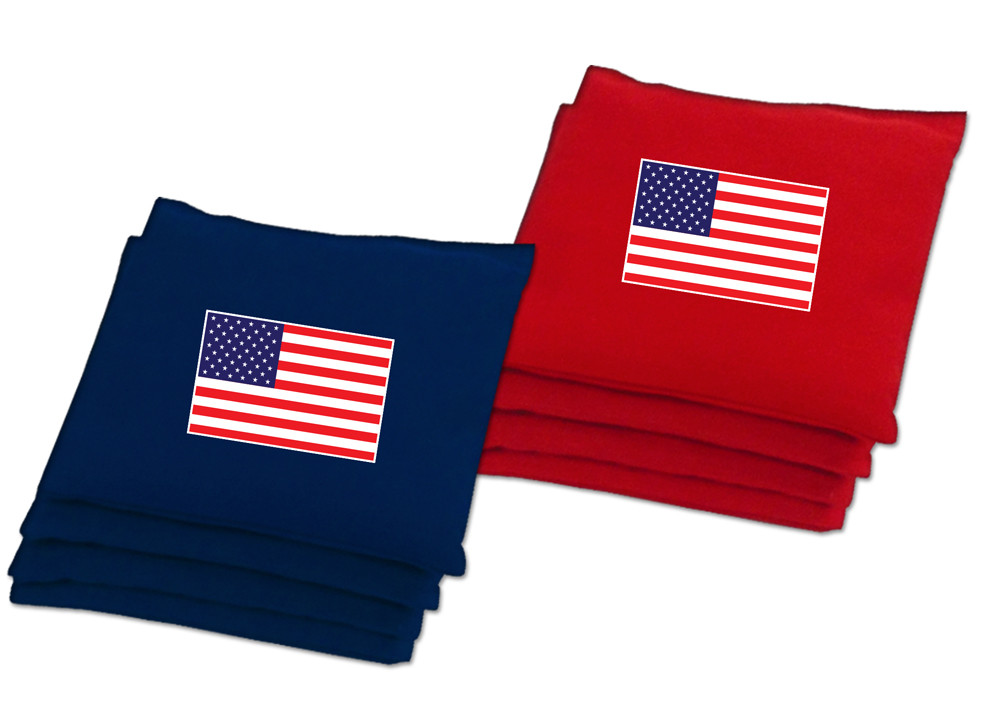 USA Flag Baggo Bean Bags