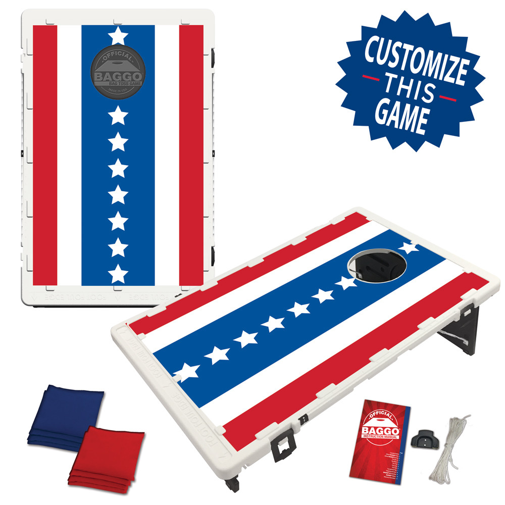 Americana Many Stars Flag Bag Toss Game by BAGGO