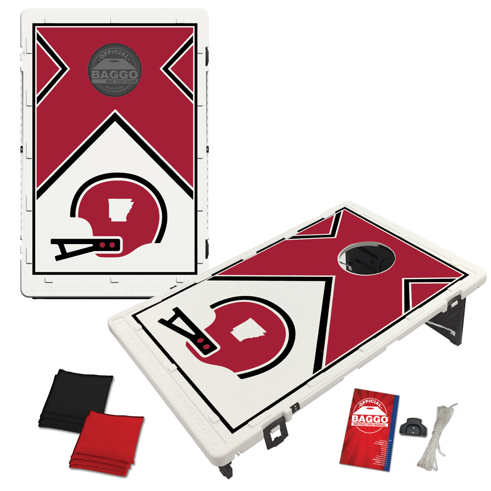 Arkansas Distant Replay Bag Toss Game by BAGGO