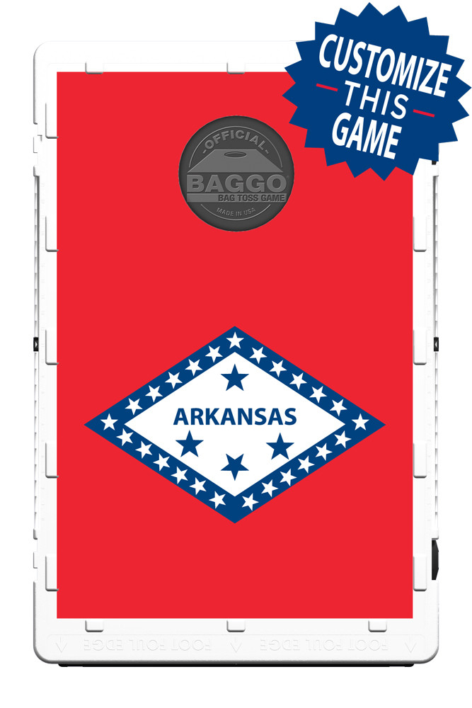 Arkansas Flag Screens (only) by Baggo