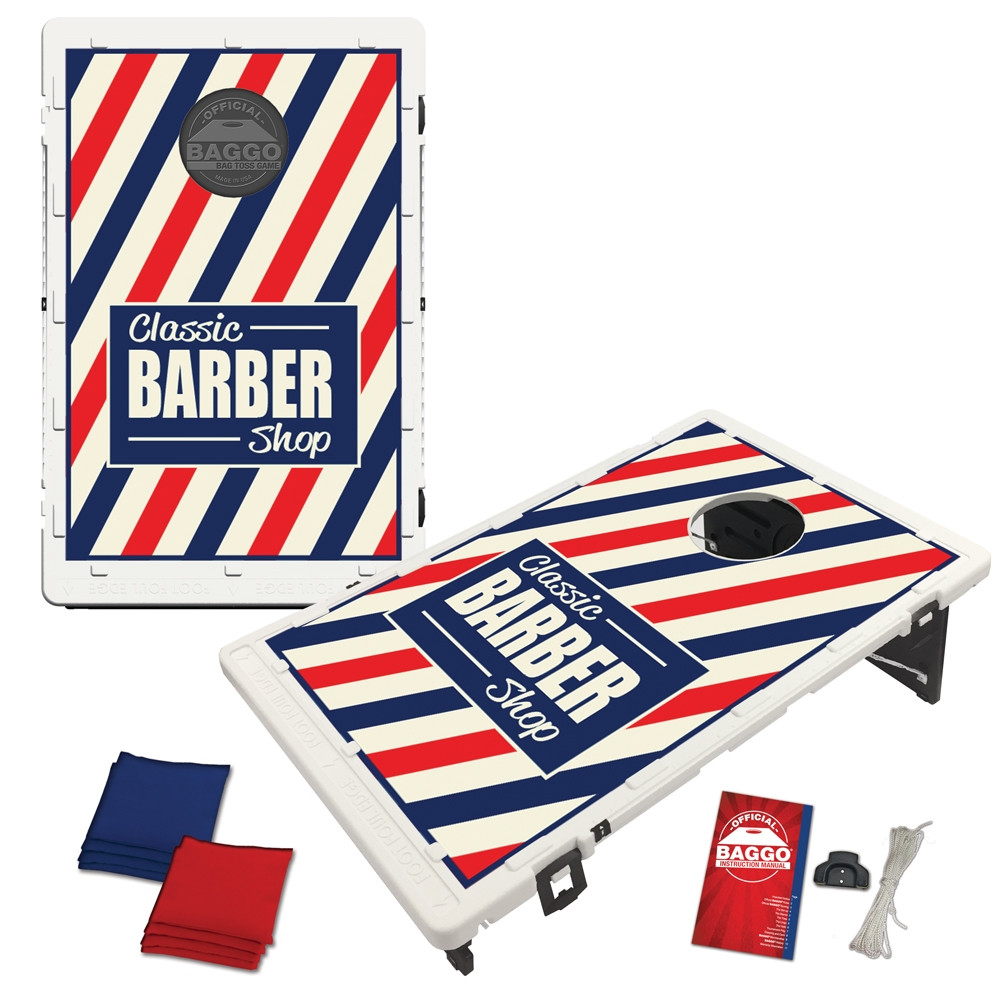 Barber Shop Bean Bag Toss Game by BAGGO