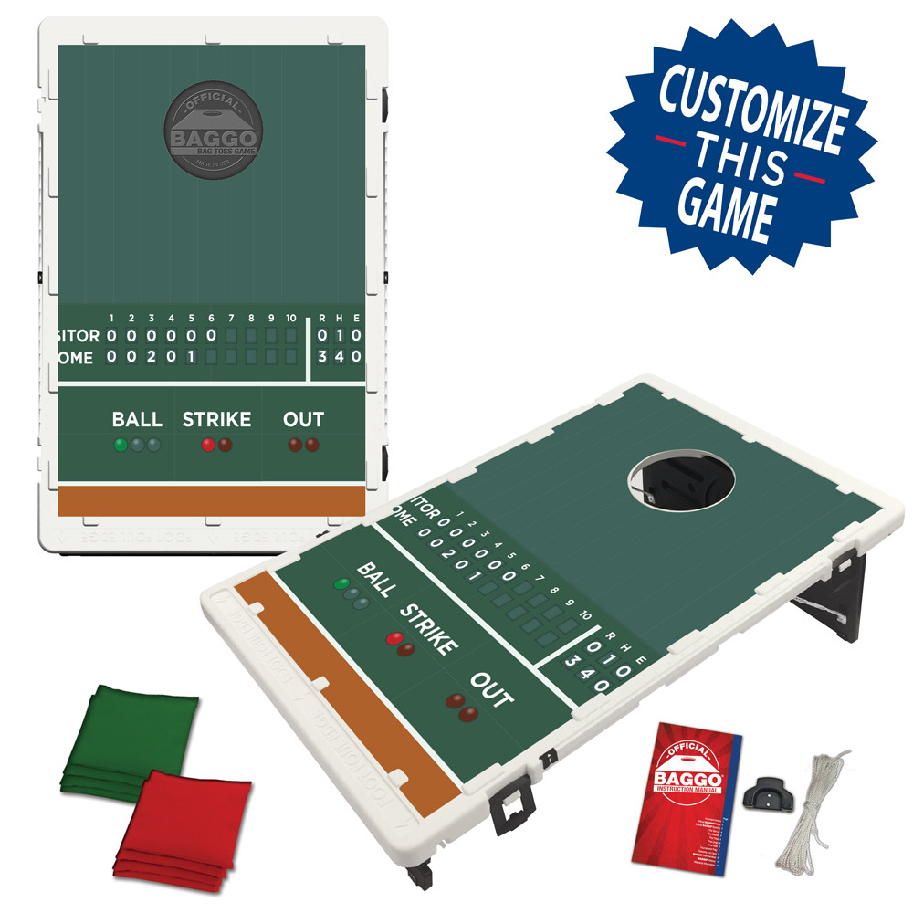 Baseball Scoreboard Bean Bag Toss Game by BAGGO