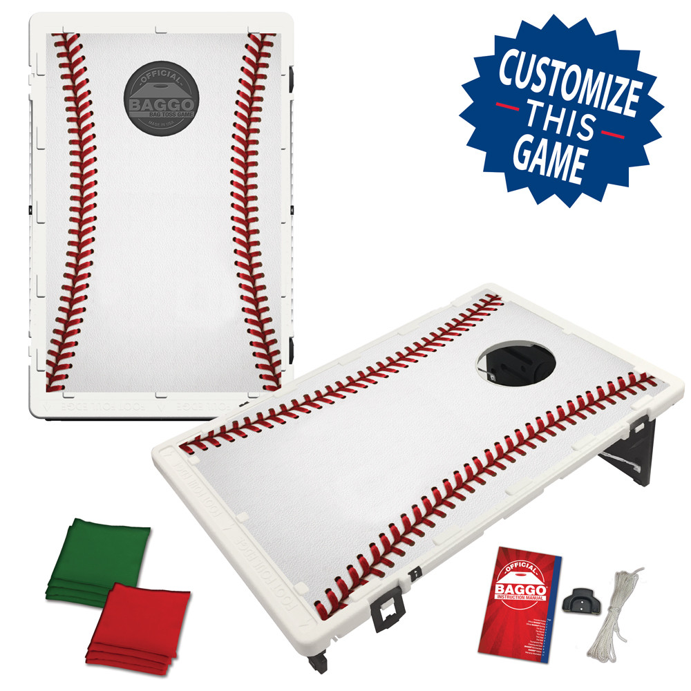Baseball Seams Bean Bag Toss Game by BAGGO