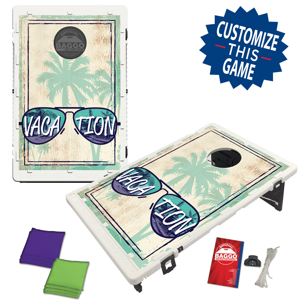 Beach Sunglasses Bean Bag Toss Game by BAGGO
