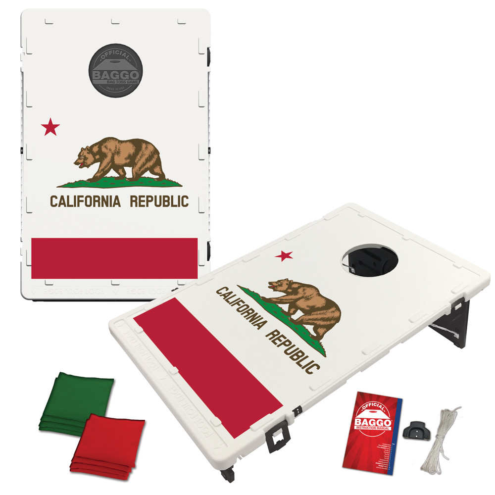California State Flag Bean Bag Toss Game by BAGGO