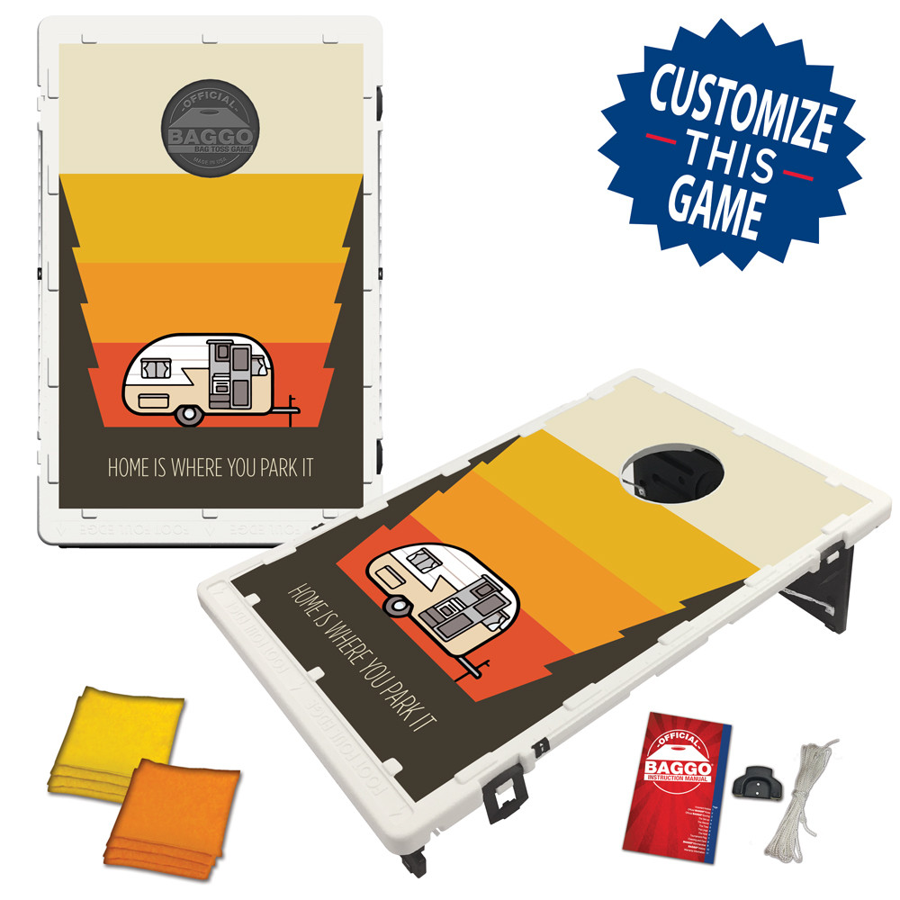 Camper Sunset Bean Bag Toss Game by BAGGO