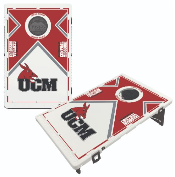 Central Missouri UCM Bean Bag Toss Game by BAGGO