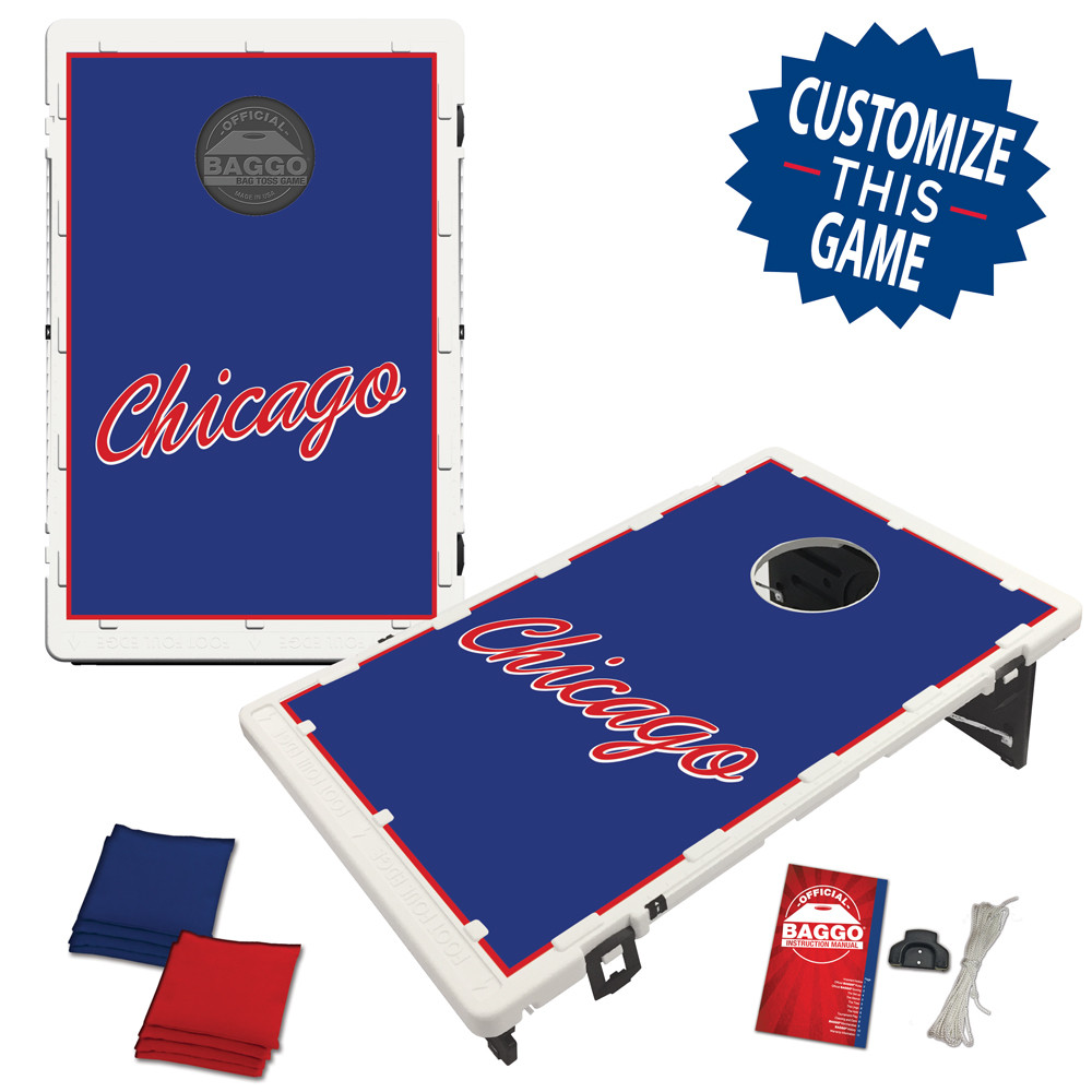 Chicago Script Bag Toss Game by BAGGO