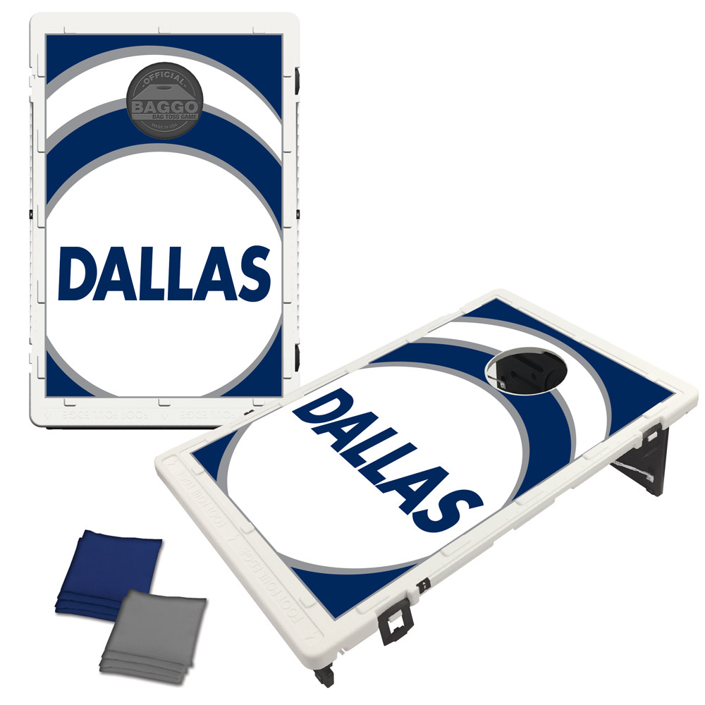 Dallas Navy Vortex Bag Toss Game by BAGGO