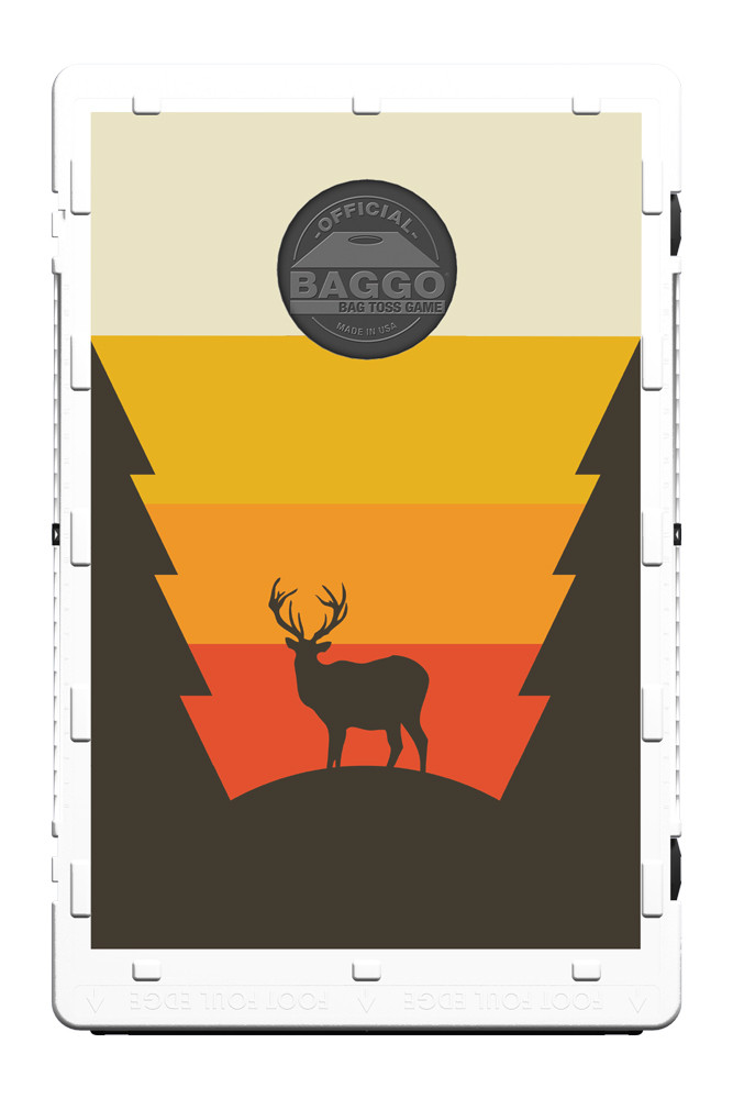 Deer Silhouette Screens (only) by Baggo