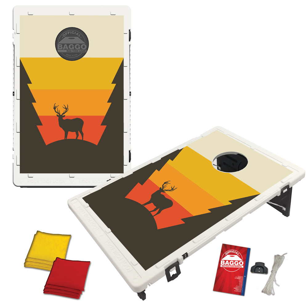 Deer Silhouette Baggo Bag Toss Game by BAGGO
