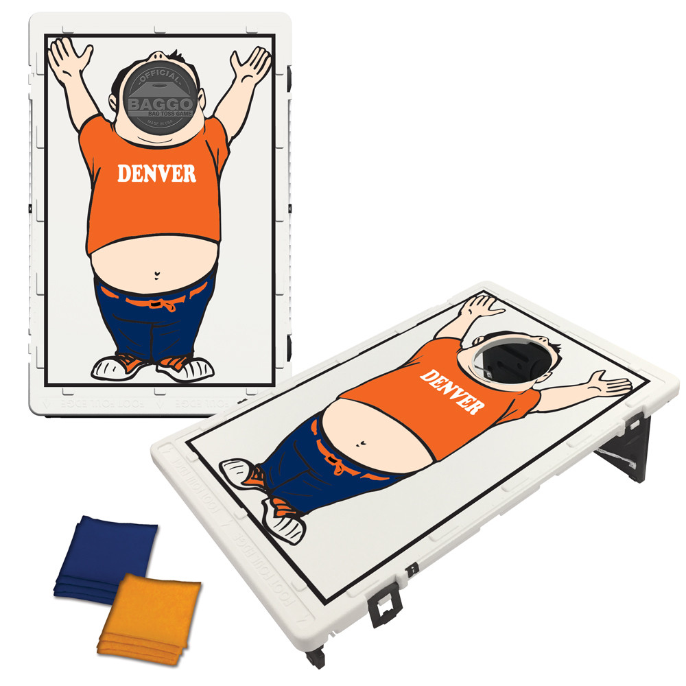 Denver Baggo Fan Bag Toss Game by BAGGO