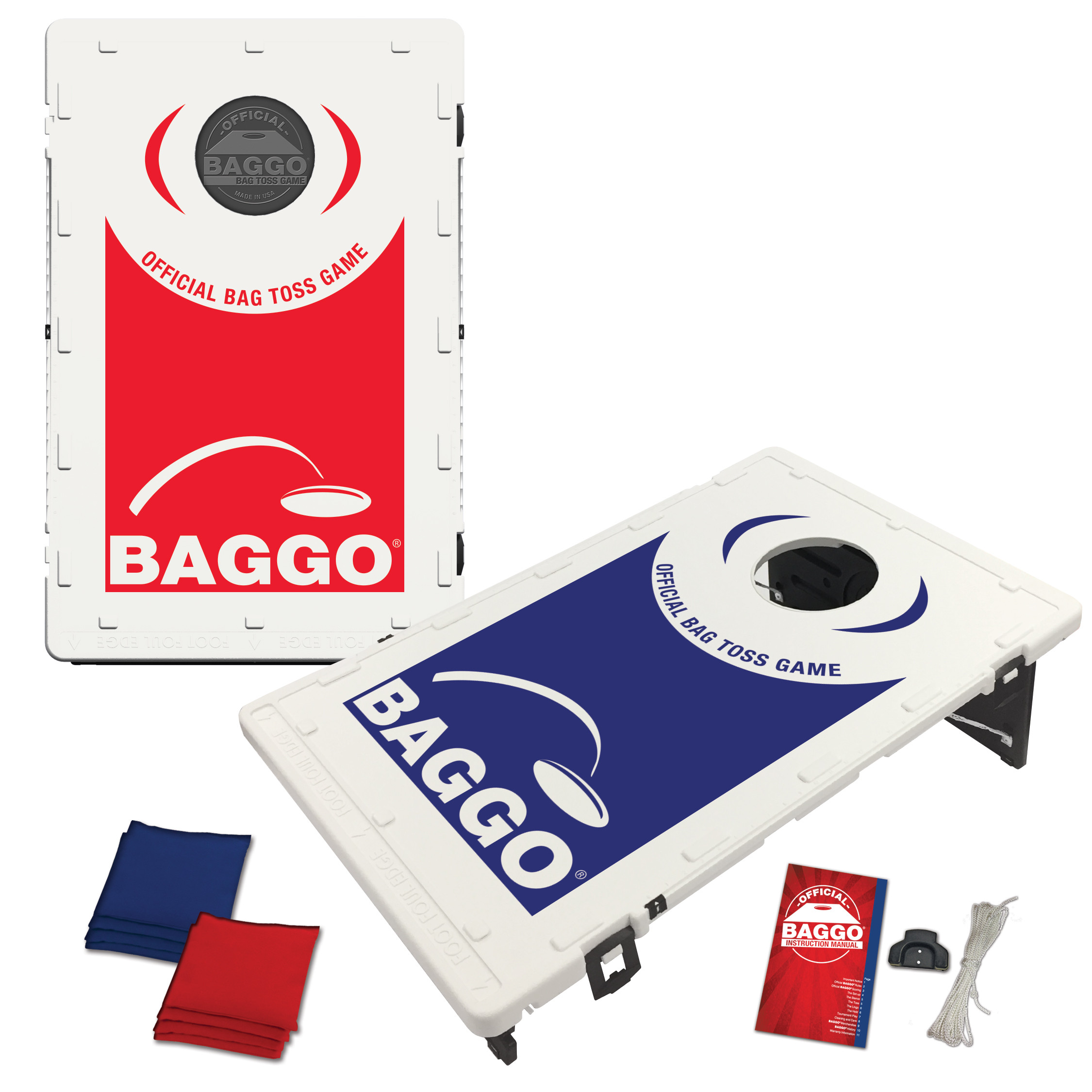 Genial Family Backyard Baggo Game Portable Cornhole Boards