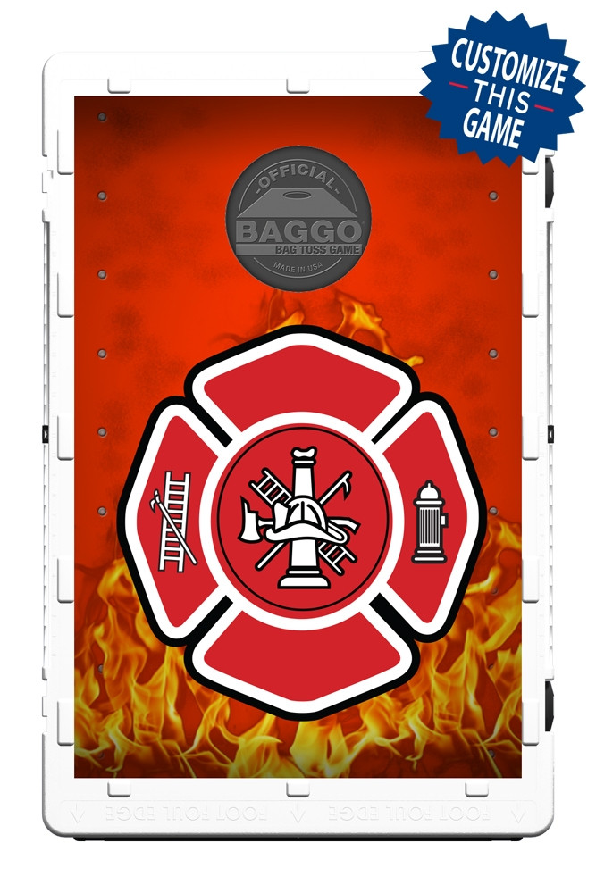 Fire Department Flames Screens (only) by Baggo