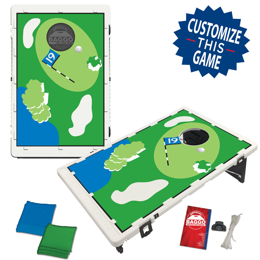 Golf 19th Hole Bean Bag Toss Game by BAGGO