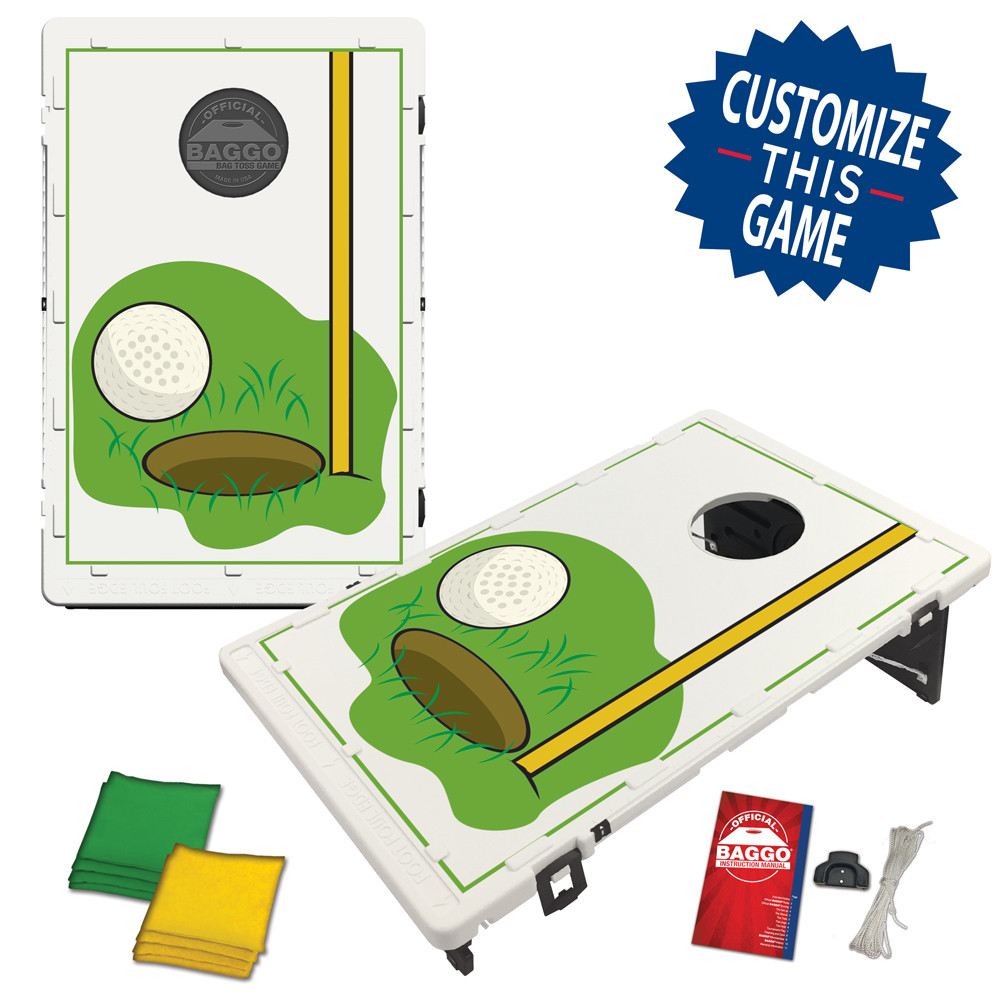 Golf & Flag Bean Bag Toss Game by BAGGO