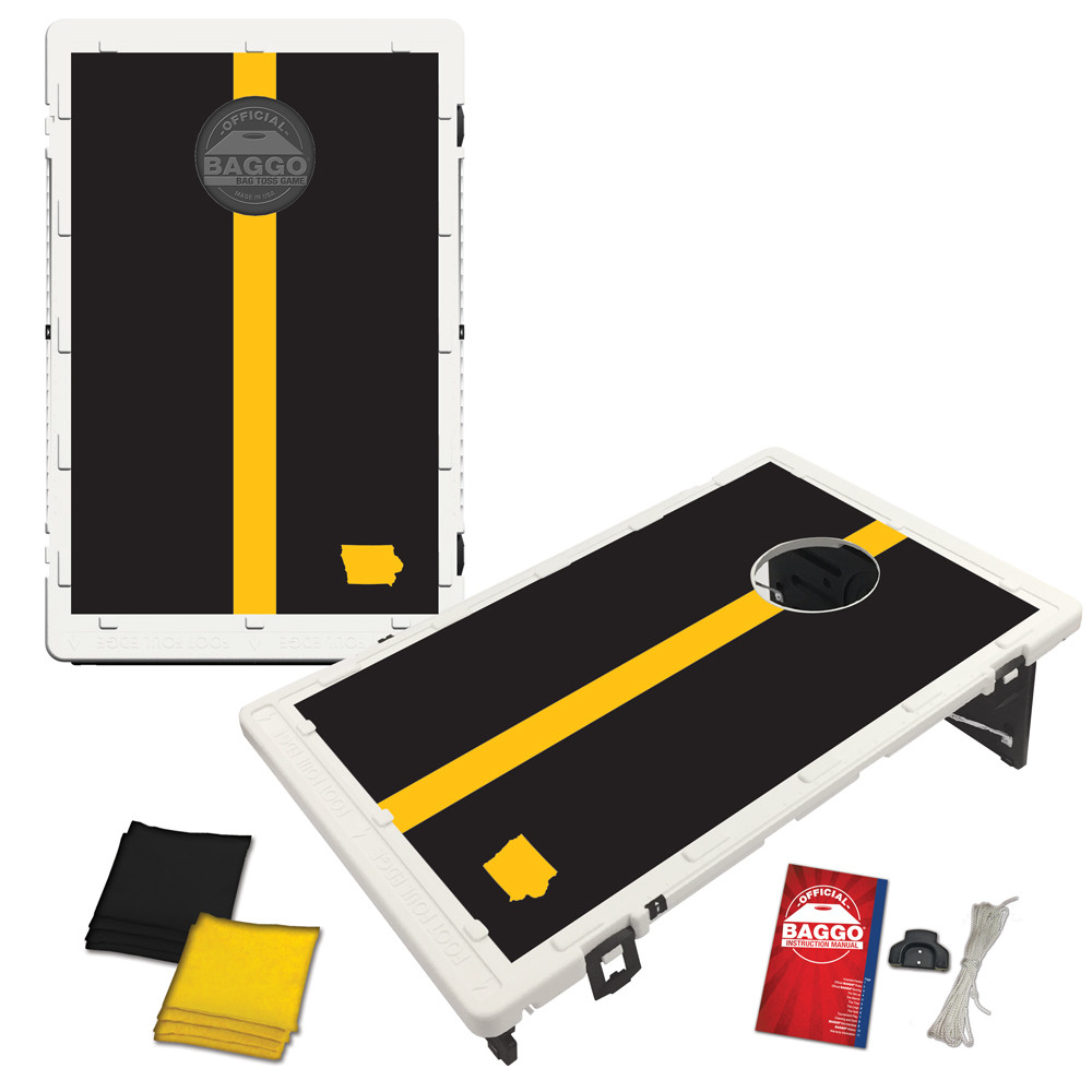 Iowa Gridiron Bag Toss Game by BAGGO