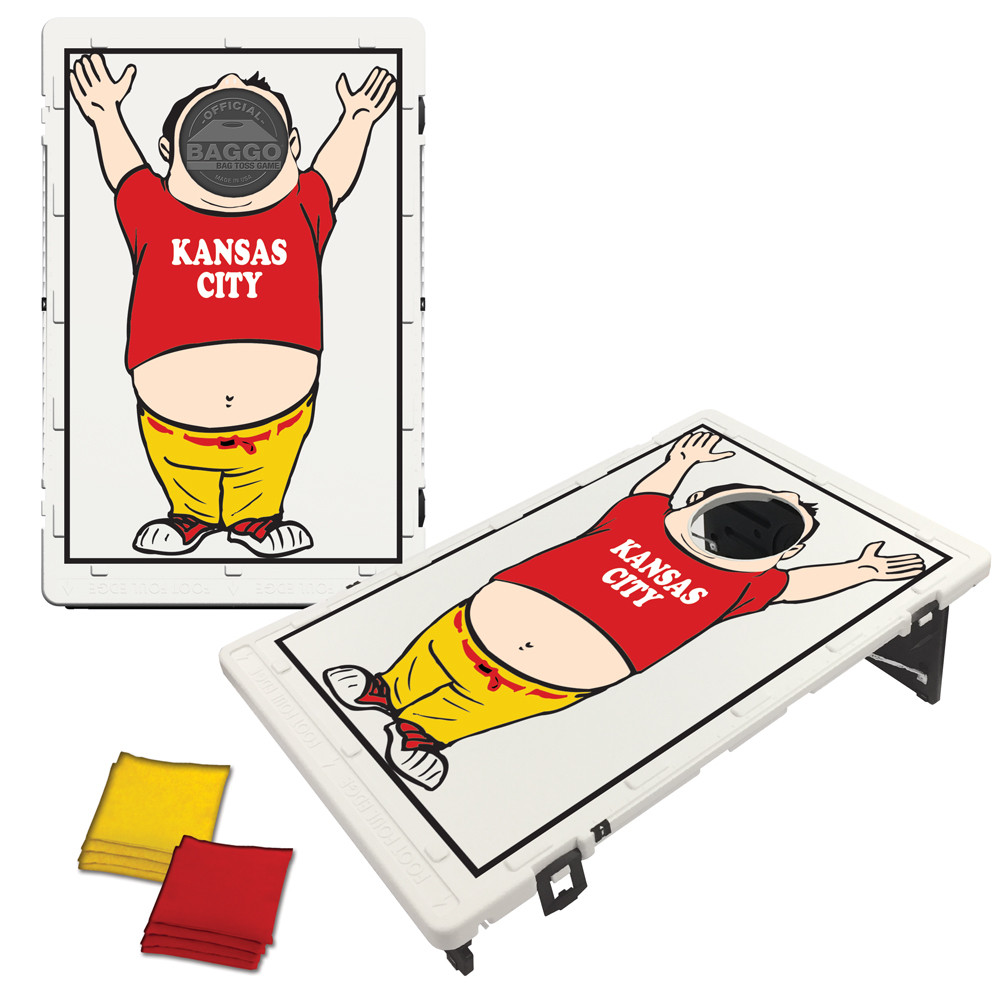 Kansas City Baggo Fan Bag Toss Game by BAGGO